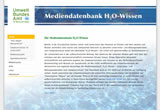 Screenshot Mediendatenbank H2O – Wissen